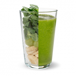 Lamb's lettuce & Banana Smoothie