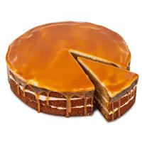 Dýňový dort se slaným karamelem