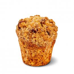 Špaldový muffin s jablky a drobenkou