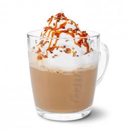 Slaný karamel latte