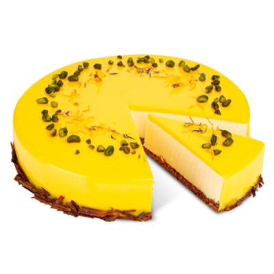 Citronový dort s yuzu