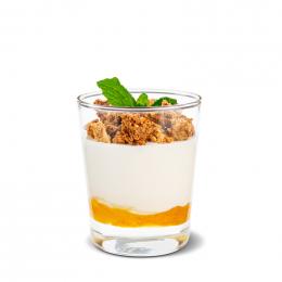 Jogurt s yuzu a naší granolou