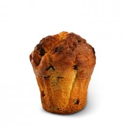 Muffin vanilkový s čokoládou