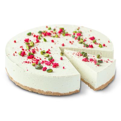 Pistáciový cheesecake