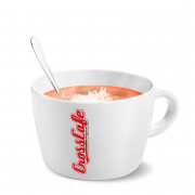 Tomato Soup with Parmesan