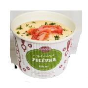 Sweet Corn Cream with Jalapenos