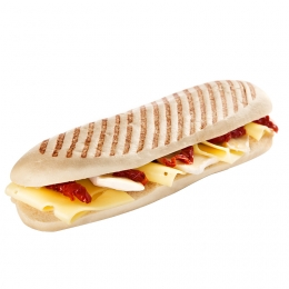Panini with Cheese and Sun-dried Tomatoes