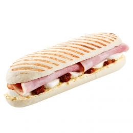 Panini with Ham and Mozzarella