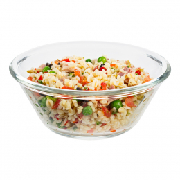 Bulgur salad with tuna